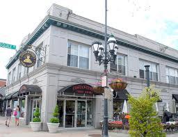 Venda Ravioli's storefront and café, Providence, RI.