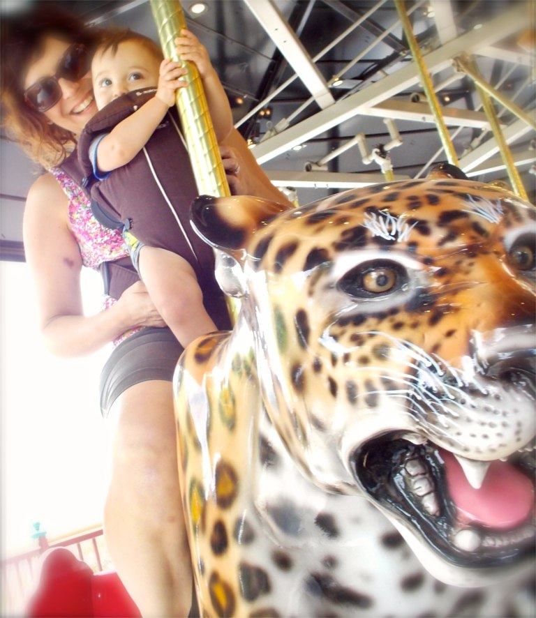 Wonderful carousel was fun for all at the Living Desert.