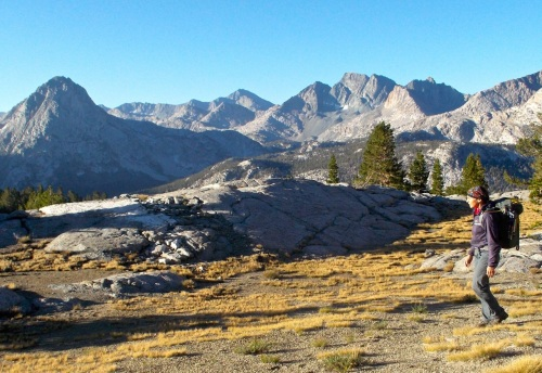 Another lousy morning in the Sierra.